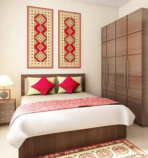 Aryan Villa, Pune: modern Bedroom by The Sasha Interiology