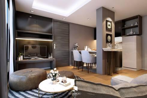 S Block Condominium 2 – Two Bedroom type :   by reinforcedarchitect