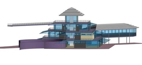 Revit Architecture Services:  Balconies, verandas & terraces  by Rayvat Rendering Studio