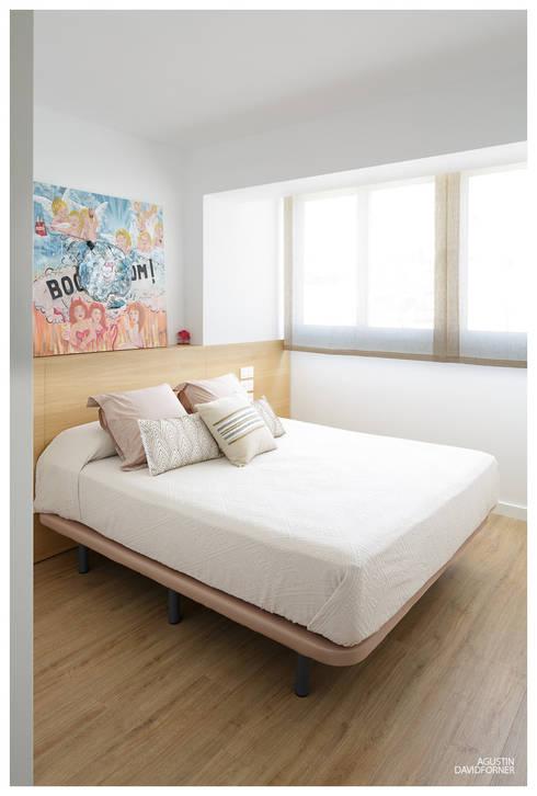 غرفة نوم تنفيذ AGUSTIN DAVID PHOTOGRAPHY