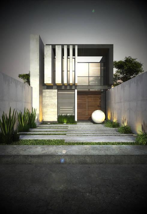 CASAS IMA GEN: Casas de estilo  por IMA GEN