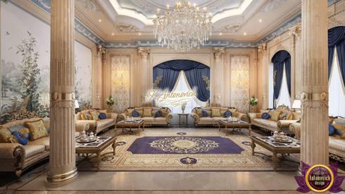 Fashionable and luxurious interiors of Katrina Antonovich: classic Living room by Luxury Antonovich Design