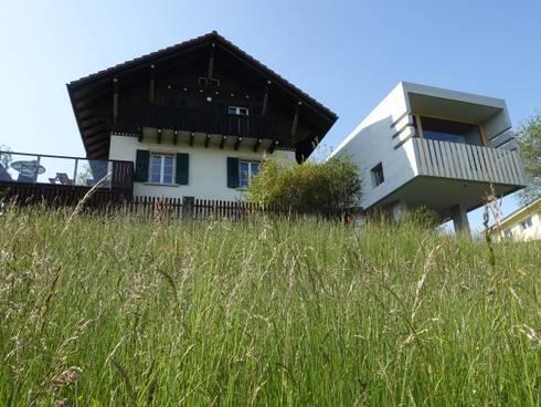 Südwestansicht - Foto by zeitwerkstatt:  Einfamilienhaus von zeitwerkstatt gmbh