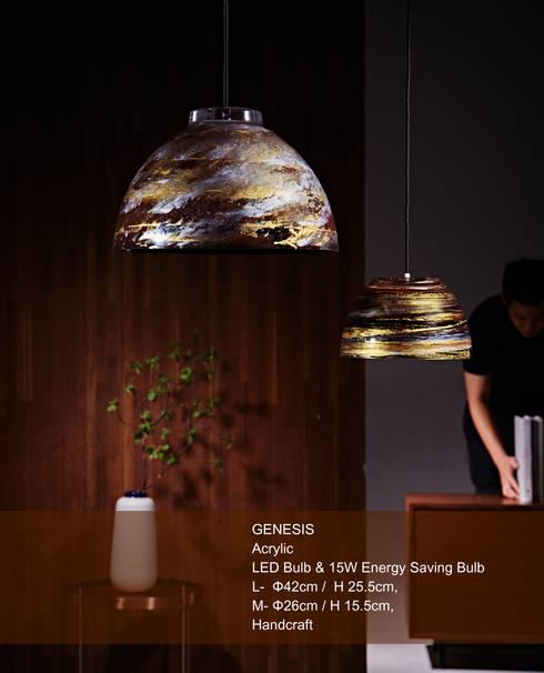 GENESIS / PENDANT LIGHT:  家居用品 by KUO YU LIGHTING