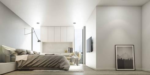 Sukhumvit68 House:   by Maincourse Architect Co., Ltd.