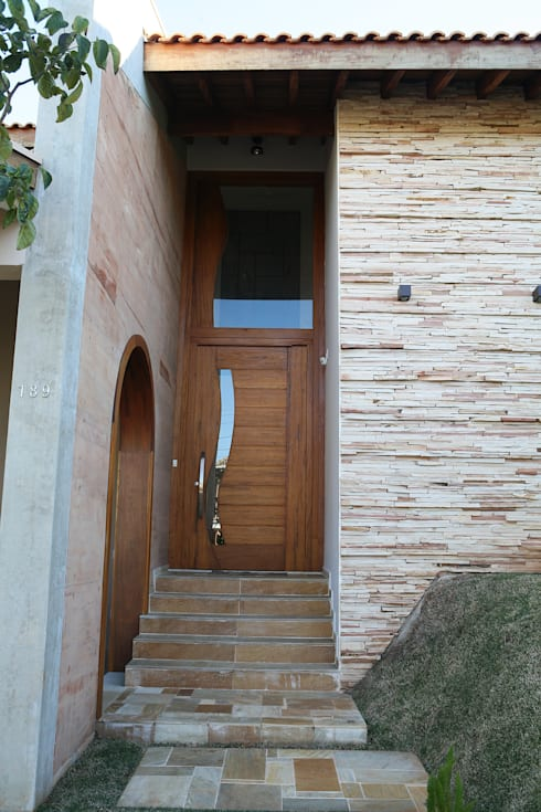 Casas de estilo  por Fernanda Quelhas Arquitetura