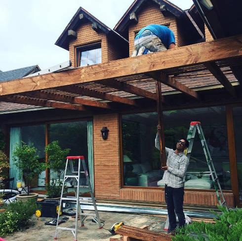 Remodelación Terraza: Terrazas  de estilo  por Mantención de Terrazas   mantenciondeterrazas.cl