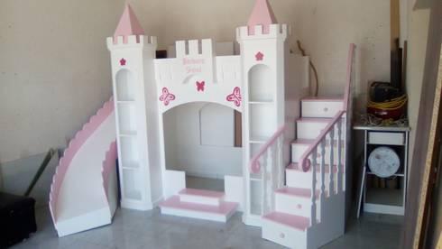 Litera castillo de princesa de camas infantiles the - Camas infantiles de princesas ...