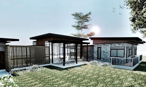 Ditchayut's House @Phrae:   by simply fine studio