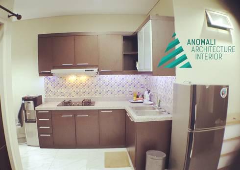 Kitchen set:  Kitchen by anomali architecture interior