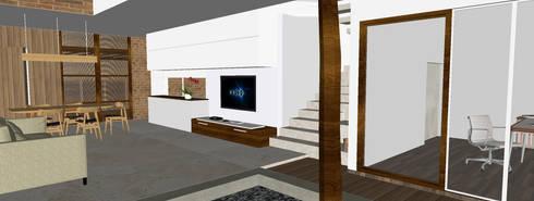 Karawaci Home:  Ruang Keluarga by Sanny Yuwono