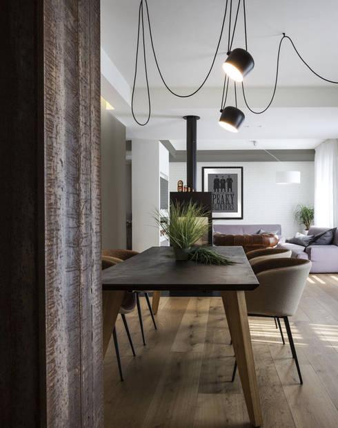 Projekty,  Jadalnia zaprojektowane przez Viú Architettura