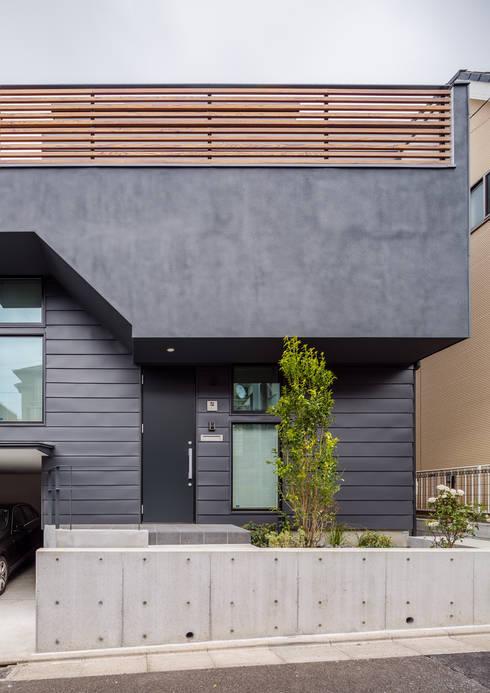 内田雄介設計室 의  일세대용 주택