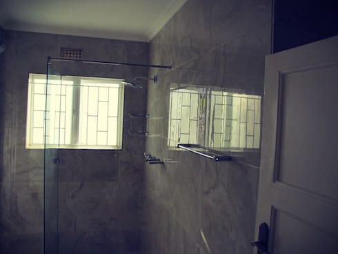 Installing Aluminium Doors:   by CPT Painters / Painting Contractors in Cape Town