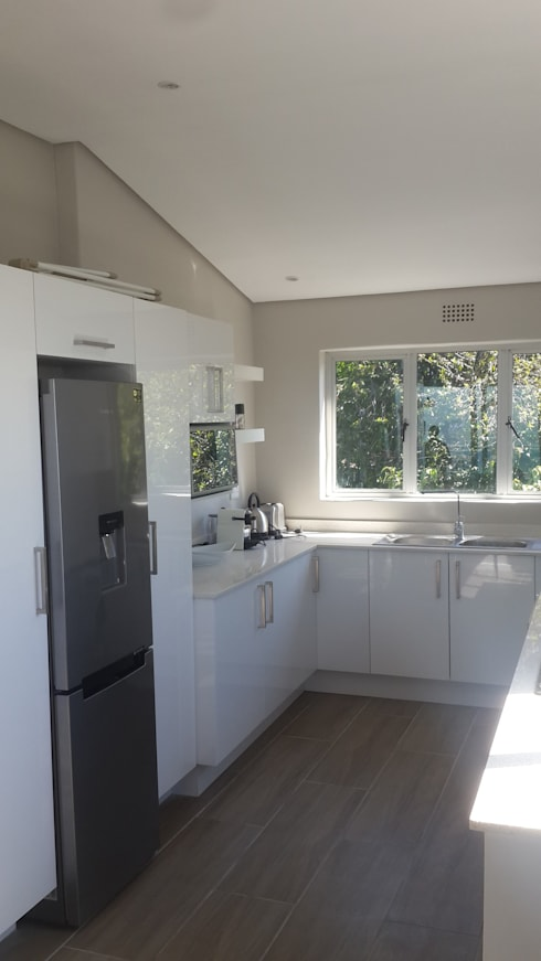 New Kitchen And Tiling And Painted Sea Point:   by CPT Painters / Painting Contractors in Cape Town