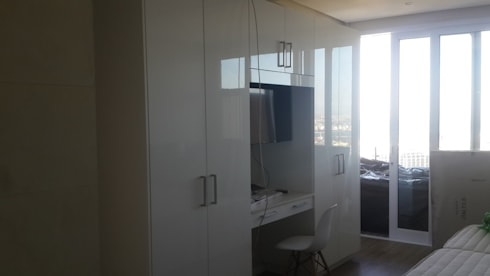 Bedroom Painted And Remodel And Cupboards Sea Point:   by CPT Painters / Painting Contractors in Cape Town