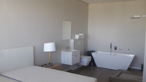 Bathroom Flooring + Paint Sea Point:   by CPT Painters / Painting Contractors in Cape Town