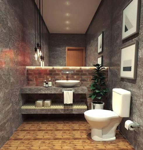 lavabo industrial por caroline berto arquitetura homify