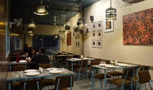 Dine Area:  Hotels by Ashoka Design Studio, Jaipur