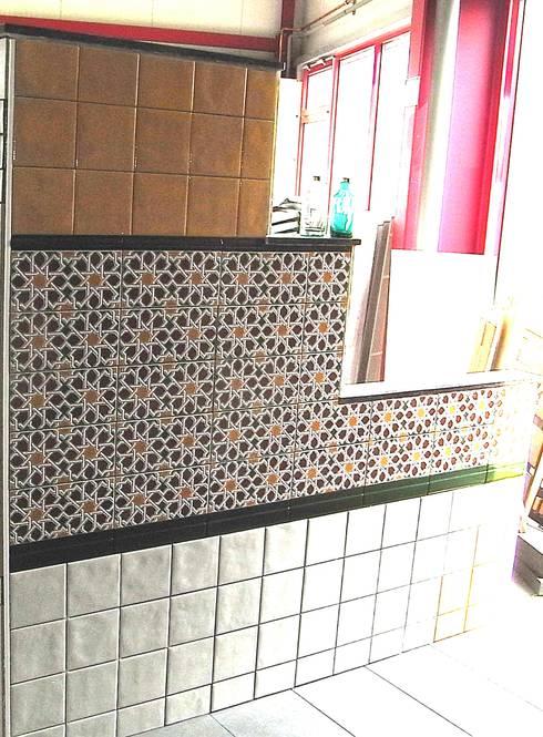 Orientalische wandgestaltung made in spain von kerbin gbr fliesen naturstein mosaik homify - Orientalische wandgestaltung ...