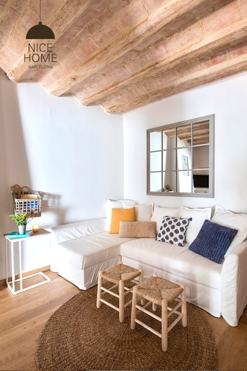 Гостиная в . Автор – Nice home barcelona
