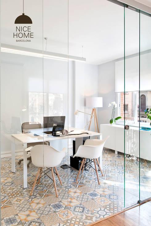 Proyecto oficina sant pau de nice home barcelona homify - Nice home barcelona ...