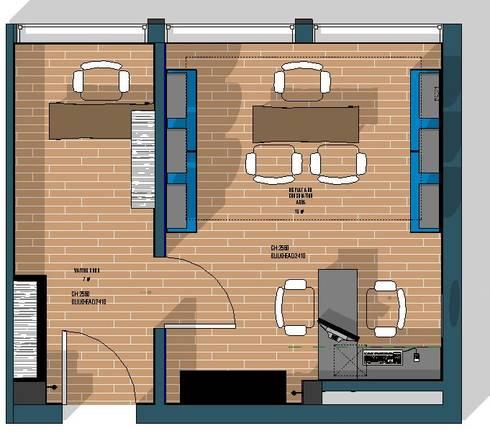 Floor plan:   by Design & Things