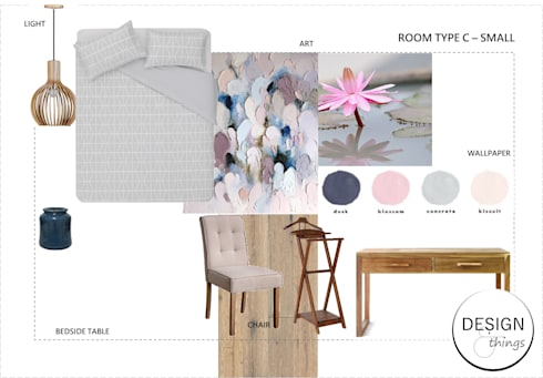 GUESTHOUSE :   by Design & Things