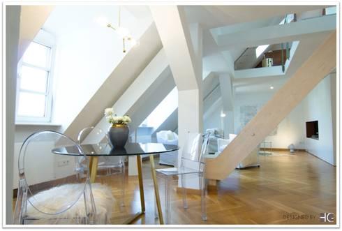 Lieblich Münchner Home Staging Agentur GESCHKA: Minimal Tarz Tarz Yemek Odası
