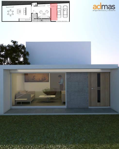 Casas minimalistas ideas y ejemplos en m xico for Casa tipo minimalista