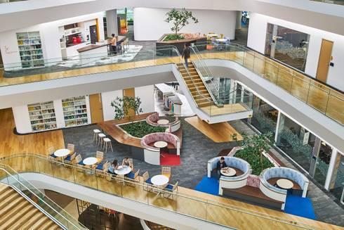 Aedas-designed Unilever Headquarters in Indonesia inaugurates:   by Aedas