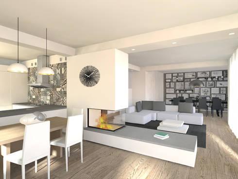 Una casa moderna in campagna di flavia benigni architetto for Casa moderna open
