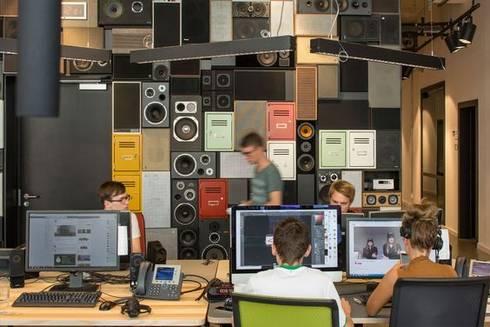 Radio Bremen NEXT by RAUMINRAUM:  Bürogebäude von rauminraum