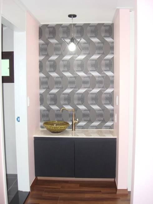 울산시 울주군 은편리 단독주택/목조주택: 피앤이(P&E)건축사사무소의  욕실