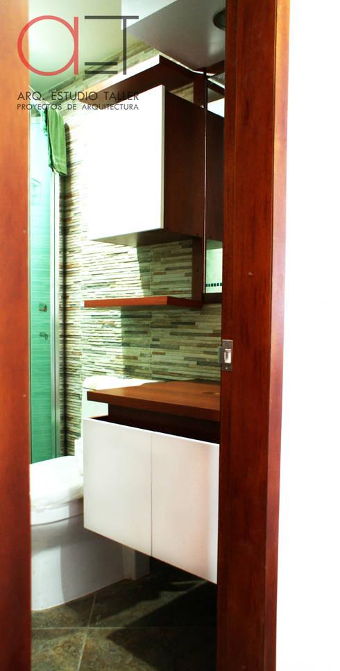 Mueble para baño: Baños de estilo moderno por Arq. Estudio Taller