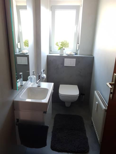 Fugenlose Oberflächen für Wand und Boden, Bad,WC von Hofele ...