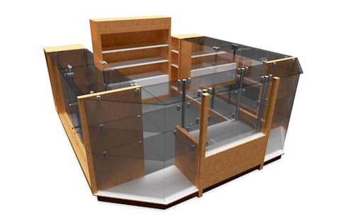 RENDER ilustrativo 1: Oficinas y tiendas de estilo  por Jorge Osorio Arquitecto