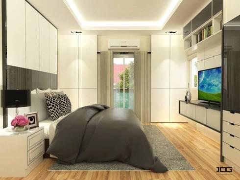 Project. Nirvana กัลปพฤกษ์-สาทร:   by IDG interior decoration studio Co.,Ltd.
