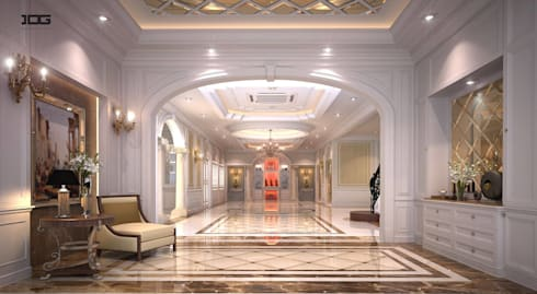 Project.grand royal nisachol กัลปพฤกษ์-สาทร:   by IDG interior decoration studio Co.,Ltd.