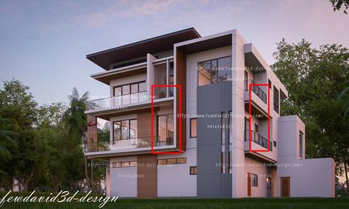 การจัดวางคอยล์ร้อนในงานออกแบบของFEWDAVID3D :   by fewdavid3d-design