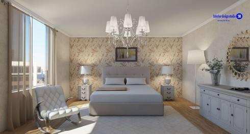Bedroom: classic Bedroom by 'Design studio S-8'