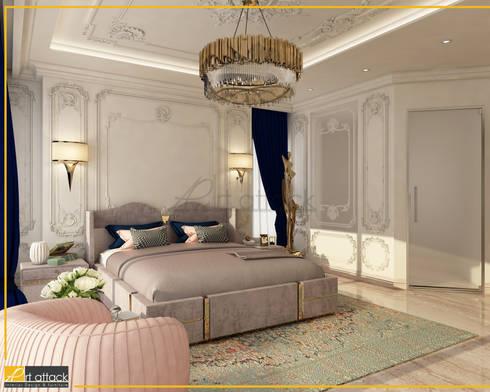 شقة مساكن شيراتون:  غرفة نوم تنفيذ Art Attack
