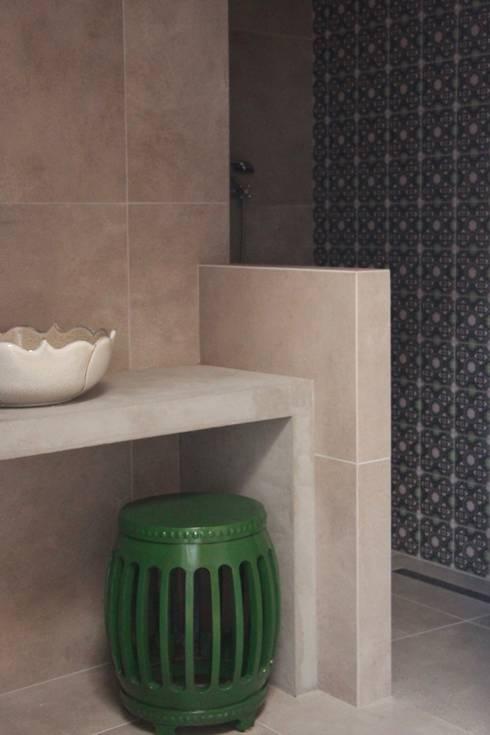 industrial Bathroom by Papersky Studio
