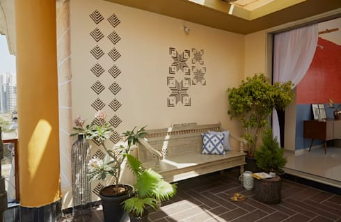 Terrace by Papersky Studio