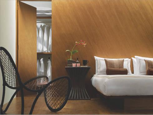tropical Bedroom by Papersky Studio
