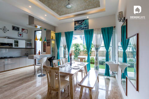 Mr Harsh's Residential Project- : modern Dining room by Design  Cafe