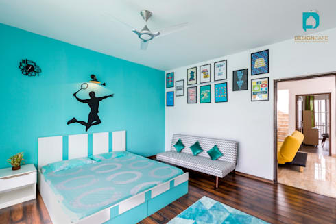 Mr Harsh's Residential Project- : modern Bedroom by Design  Cafe