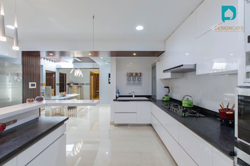 Ms Chaitras- Residential Project: modern Kitchen by Design  Cafe