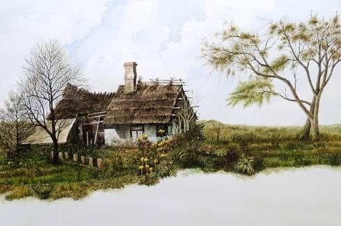 A Ranch:  Artwork by Indian Art Ideas