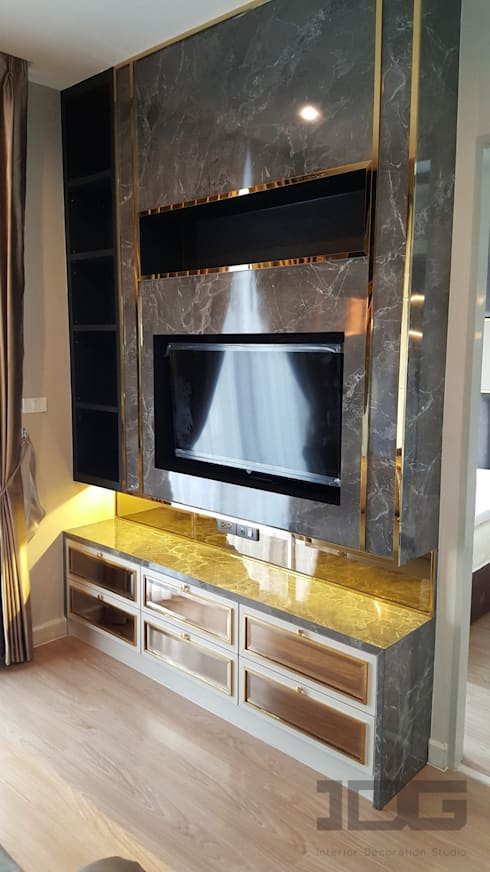 The Capital Condo by KPN:   by IDG interior decoration studio Co.,Ltd.